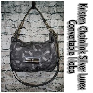 Coach Kristen Chainlink Lurex Convertable